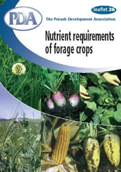 Nutrient requirements for forage crops (Cover pictures kindly provided by Advanta Seeds UK Ltd).
