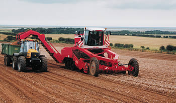 Photo courtesy of Grimme (UK) ltd