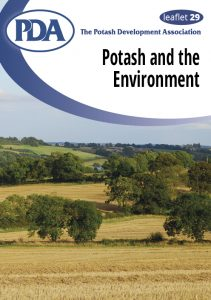 PDA Leaflet 29: Potash and the environment