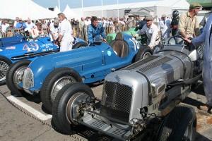 Era and Bugatti at Goodwood